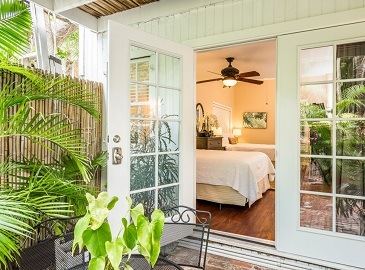 Best Place to Stay in Key West - Courtyard Suite at Old Town Manor