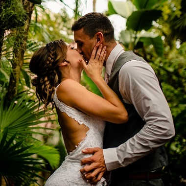 Key West bed and breakfast - Key West garden wedding