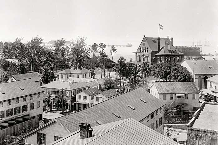 View of Key West FL
