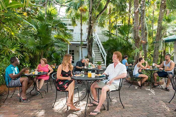 Breakfast at a Key West Inn