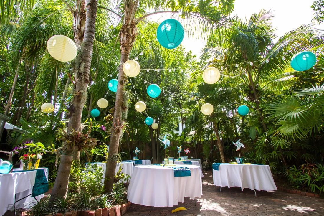 Key West Garden Reception