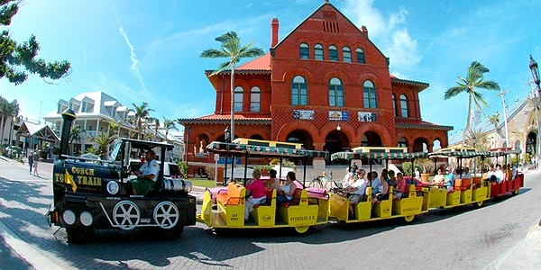 Key West Conch Train Customs House