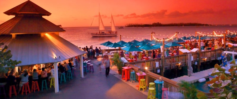 Key West Dog Friendly Restaurants - Sunset Pier