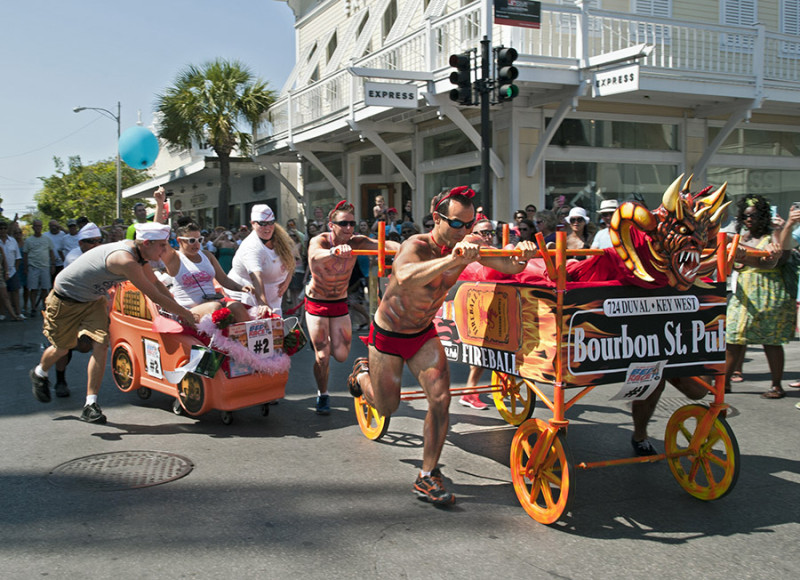 key west events - conch republic days by Rob O'Neal