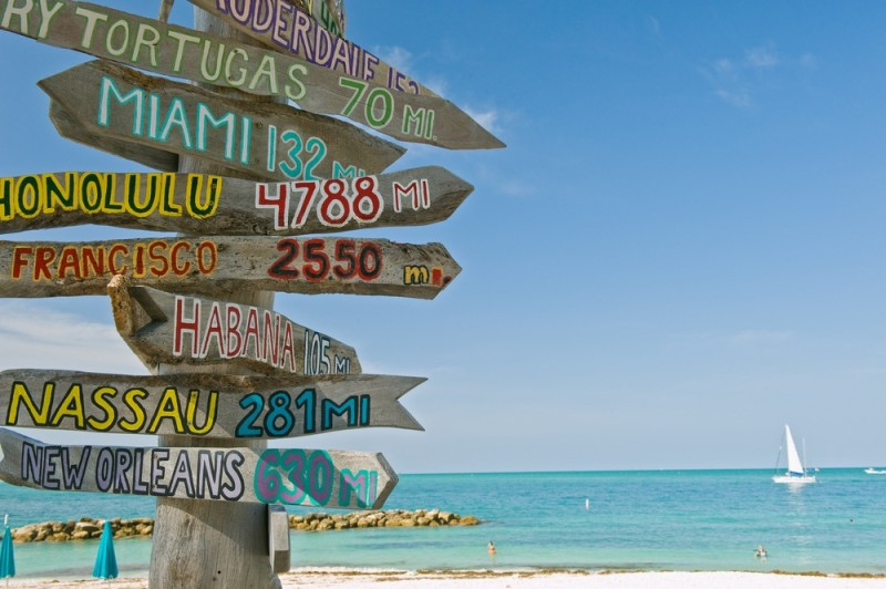 key west beaches, fort zachary