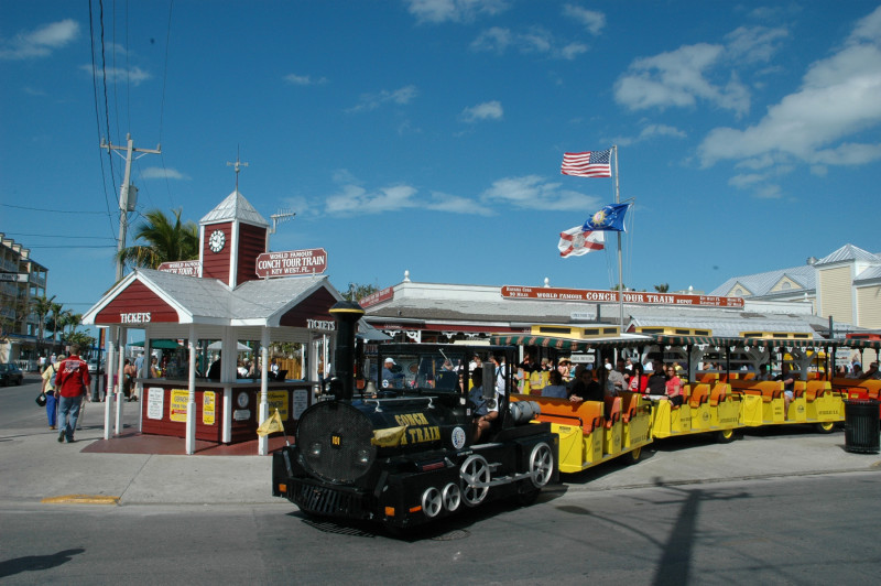 Key West Tours - Conch Tour Train