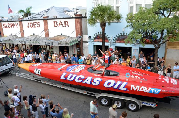 Key West Parades - Power Boat Races
