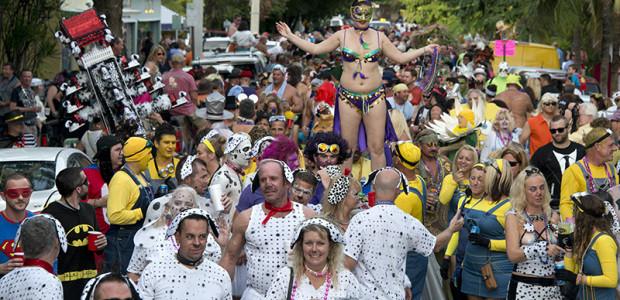 Key West Parades - Masquerade March