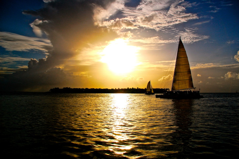 Key West Water Activities, Sunset Sail
