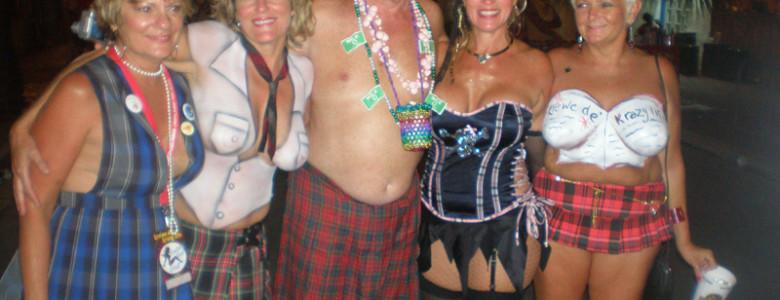 Fantasy Fest Week, Captain Tony's Party in Plaid
