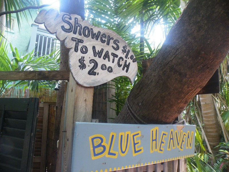 Key West Breakfast Restaurants, Blue Heaven