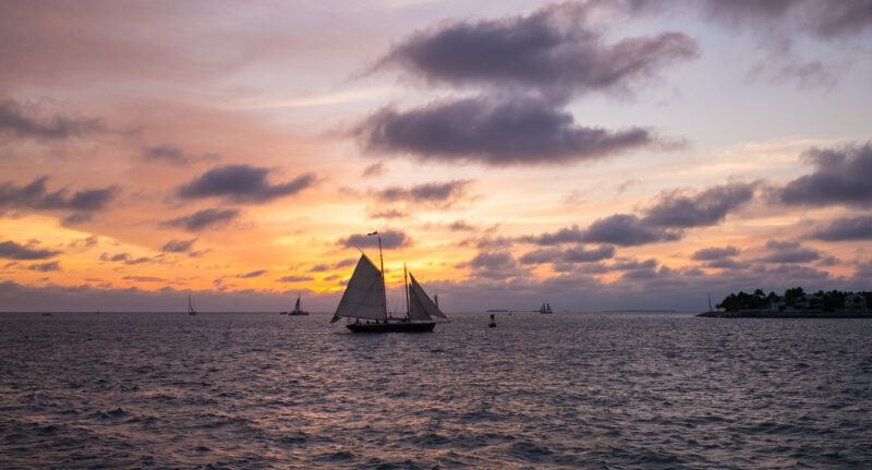 Holidays in Key West - Sunset sail