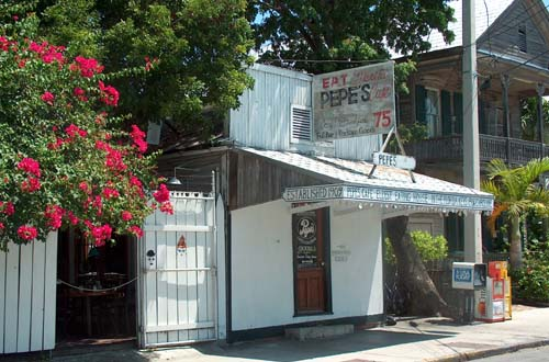 Thanksgiving in Key West: Pepe's Cafe