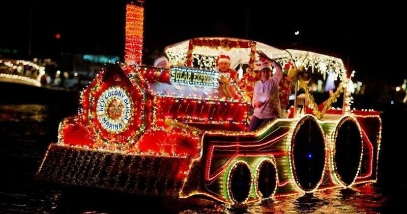 Lighted Boat Parade Key West