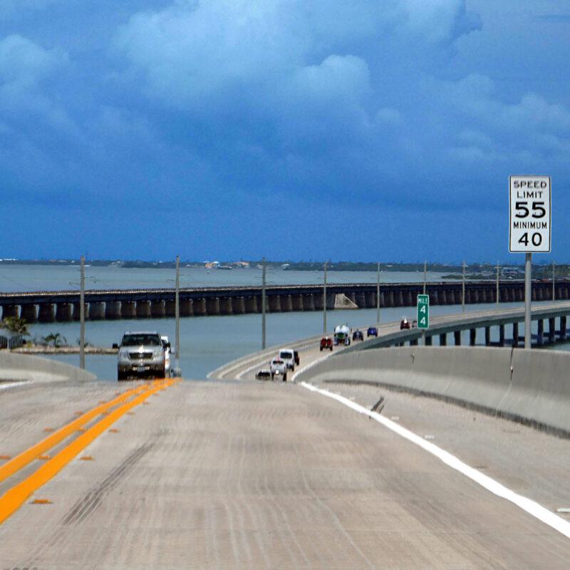 Parking in Key West - Overseas Highway
