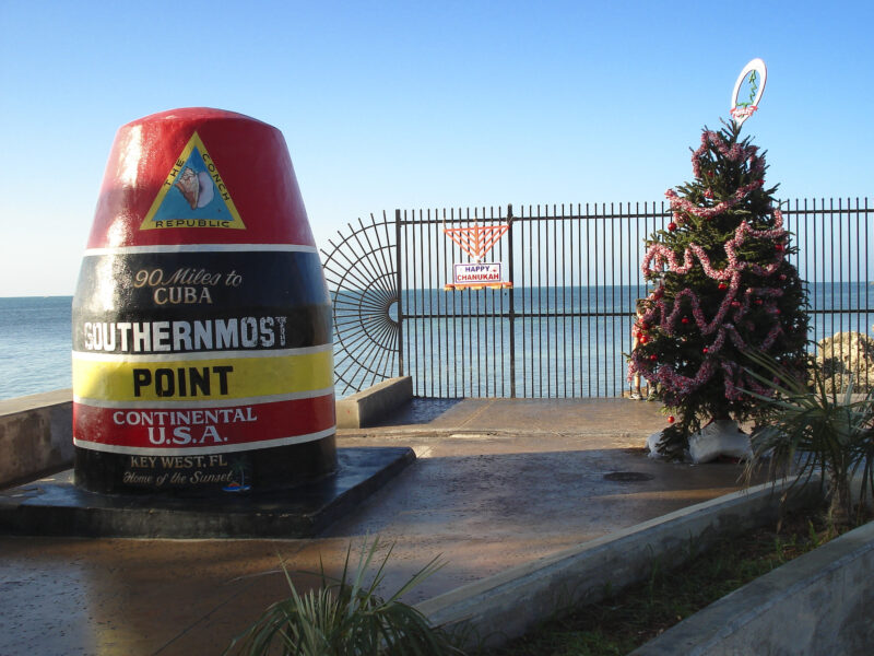 Christmas in Key West - Southernmost Point