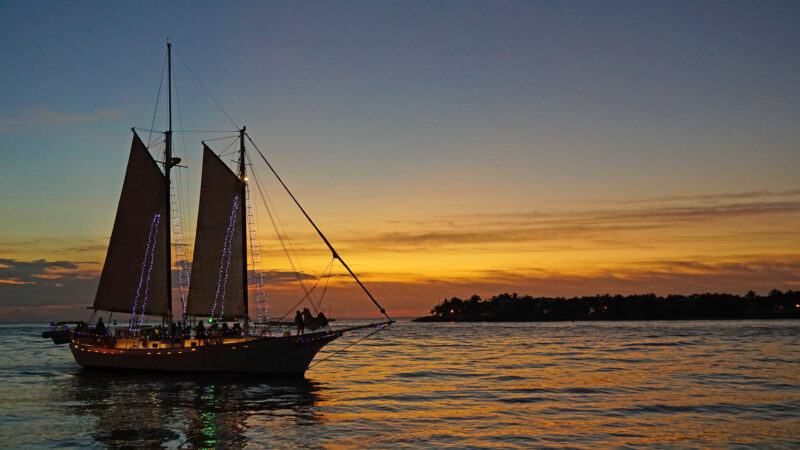 Christmas in Key West - lighted boat parade