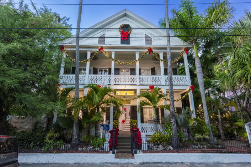 Christmas in Key West - Old Town Manor