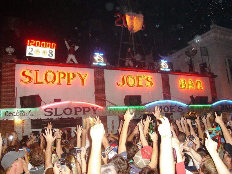New Years in Key West - Sloppy Joe's Bar
