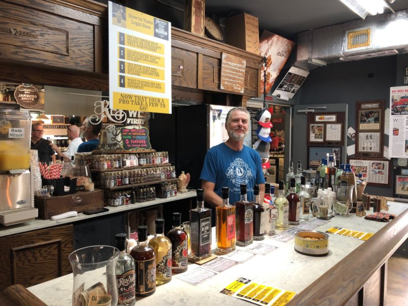 Bars in Key  - First Legal Rum Distillery