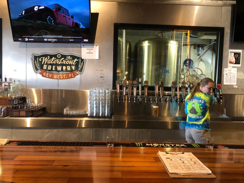 Key West bars - Waterfront Brewery