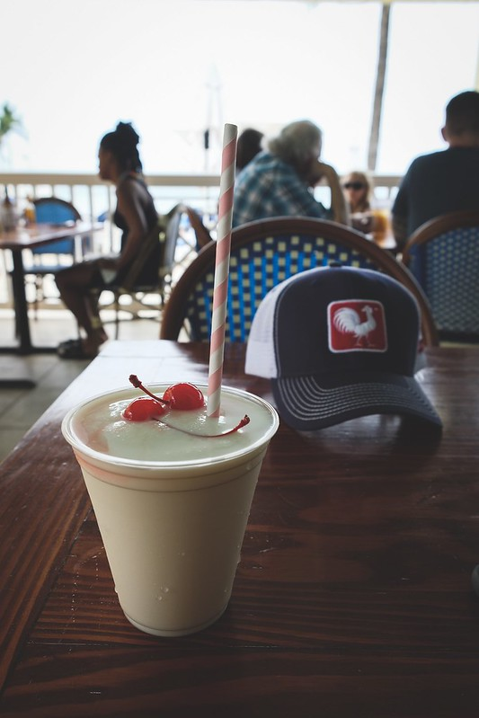 Best happy hour in Key West - Southernmost Beach Cafe